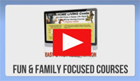 Fun and Family Focused courses - video